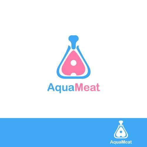 Clean logo & brand identity for Aqua Meat.