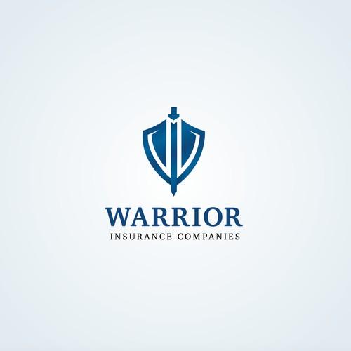 Logo design for Warrior Insurance Companies
