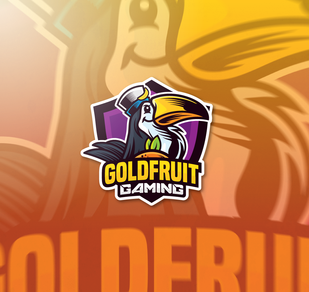 Gold Fruit Gaming: Team Logo for Video Game/LGBT Group