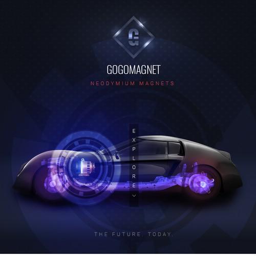 Futuristic Concept fo Gogo Magnets