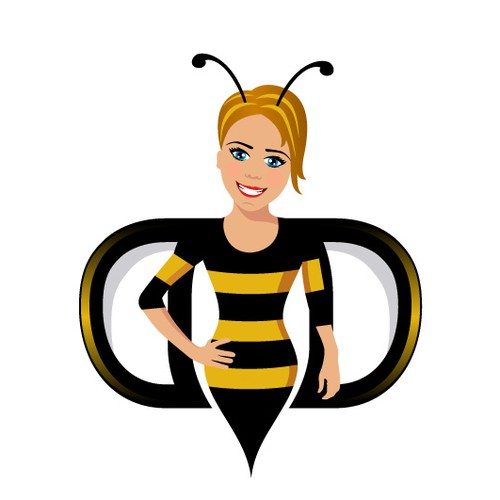 Design a Bee Logo with Double D Wings