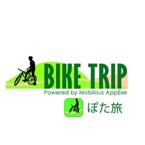 Logo for Bike tour company that provides cycling trips