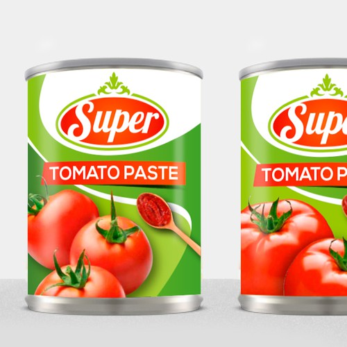 Fresh Label Tomato Paste