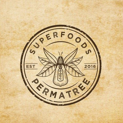 PERMATREE SUPER FOOD LOGO