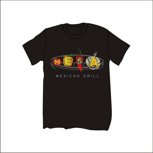 mexican grill shirt