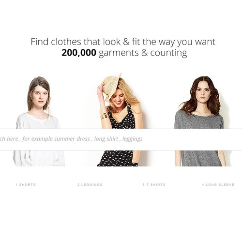 New landing page wanted for Stylekick