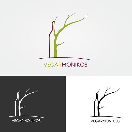 logo for Vegarmonikos (wine-pairing)