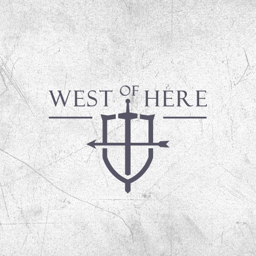 "Logo design for Christian contemporary/rock band ""West of Here"""