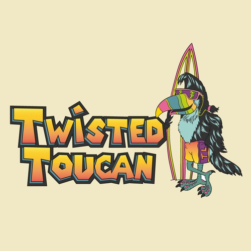 twisted toucan logo
