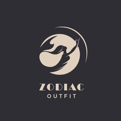 Elegant logo concept for 'ZODIAC-outfit'
