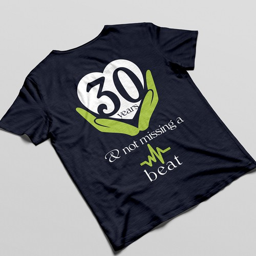 Chambers Medical Group 30 years anniversary T-shirt