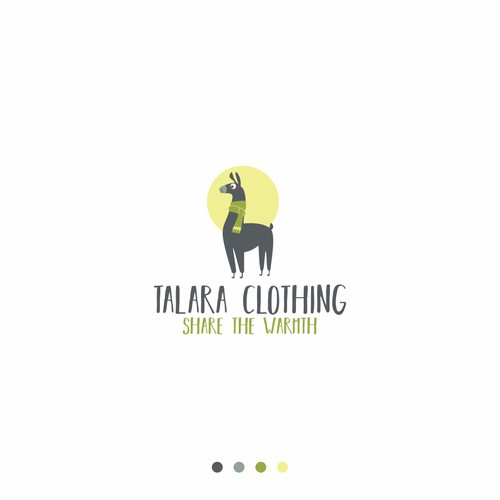 Logo for clothing store that sells artisan sweaters, scarfs, hats and purses from Peru.