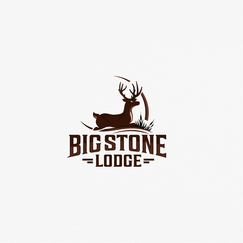 Strong, whitetail logo
