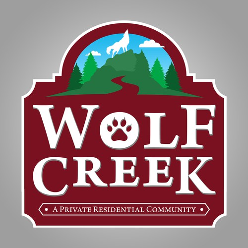 Wolf Creek Sign Contest