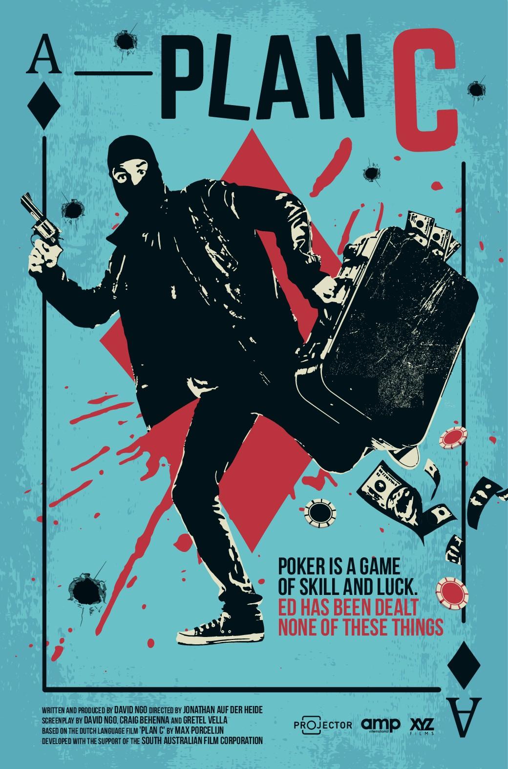Comedy/Heist Movie Poster Design!