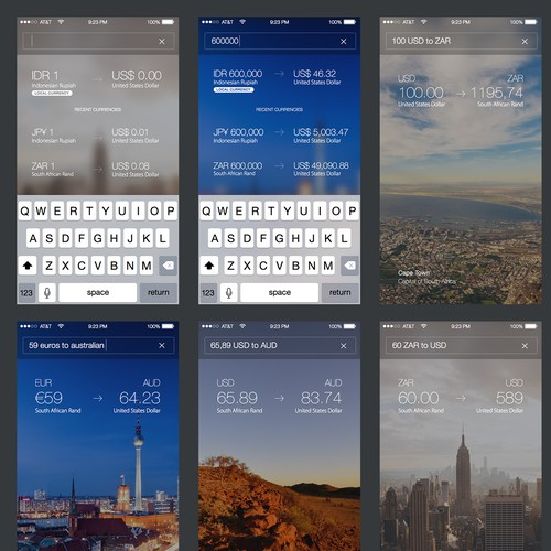 Currency Conversion iPhone App