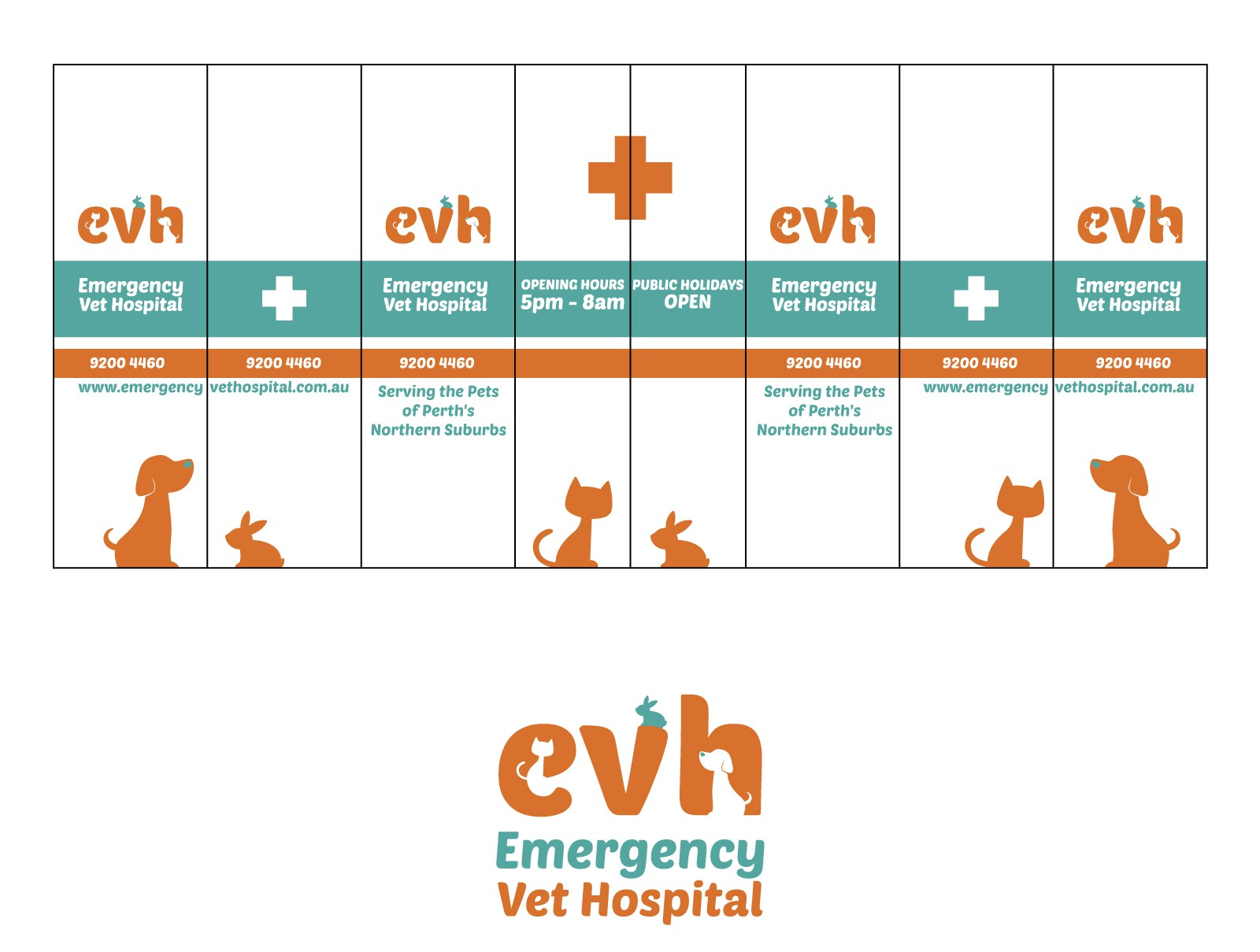 Window and front wall design for EVH hospital