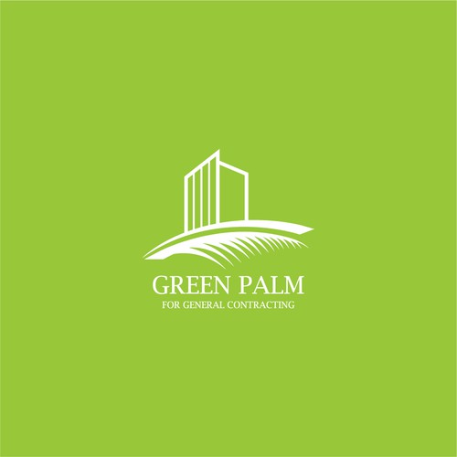 Green palm construction