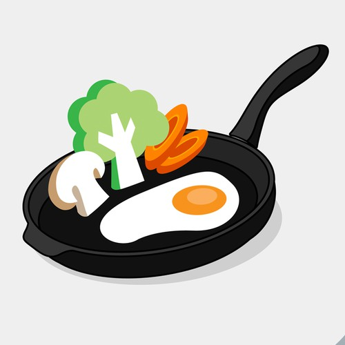 Cooking and Nutrision Icon Design