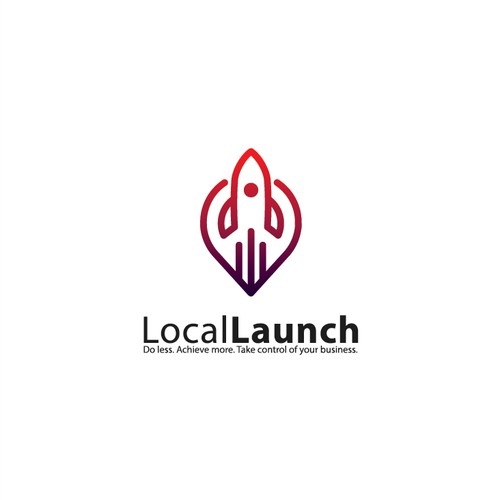 Logo for LocalLaunch company.