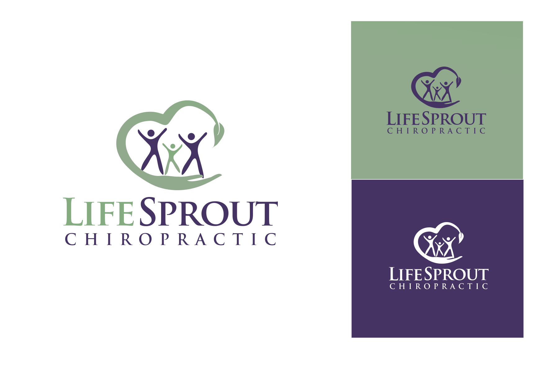 Create a unique logo for a family chiropractor