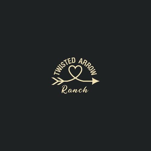 Logo for a ranch and wedding venue