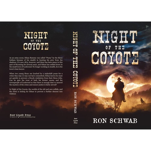 'Night of the Coyote' book cover