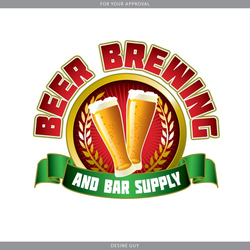Need Logo for Home Brewing / Home Winemaking Supplies Company