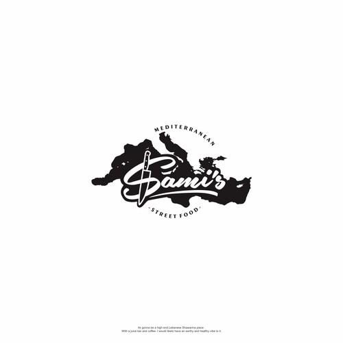 Lettering Logo For Sami's