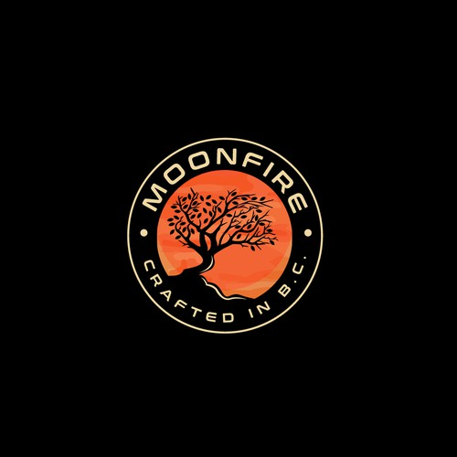 Logo for Moonfire Crafted B.C