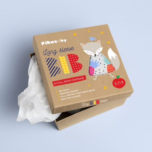 Baby product packaging design