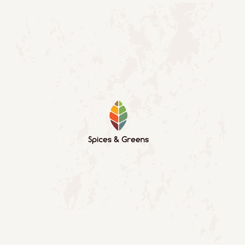 logo for spices & green