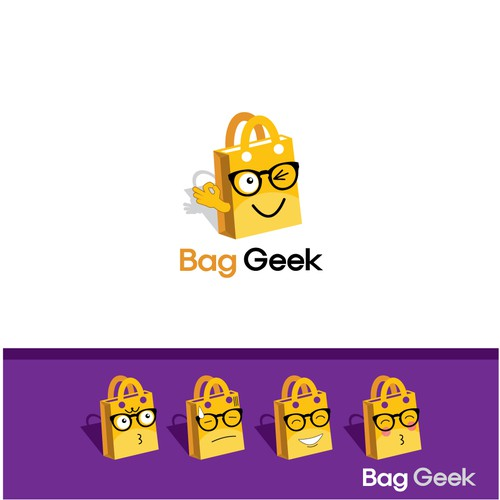 Bag Geek Logo