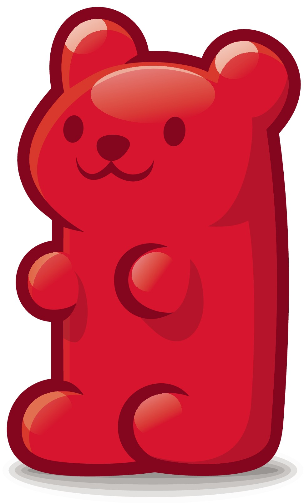 Panda Rojo Challenge (must be a red gummy bear not the animal)