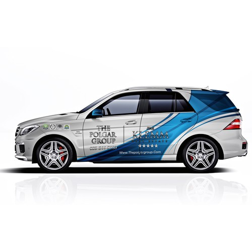 Mercedes wrap for KLEMM real estate