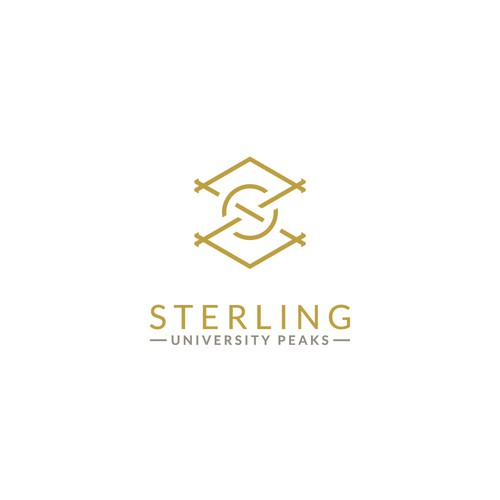 Modern luxurious logo for Sterling