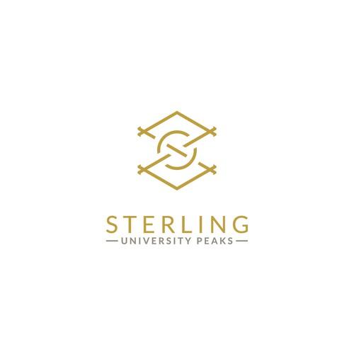 Modern luxurious logo for Sterling
