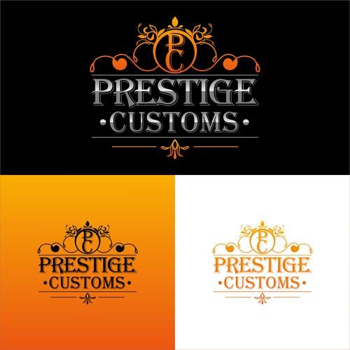 logo prestige customs