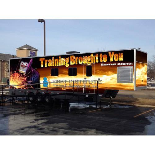 Custom Mobile Welding Lab needs custom graphic wrap