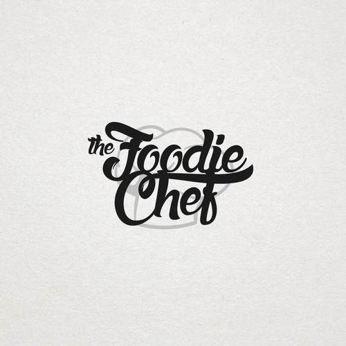 "Concept logo for ""The Foodie Chef"""