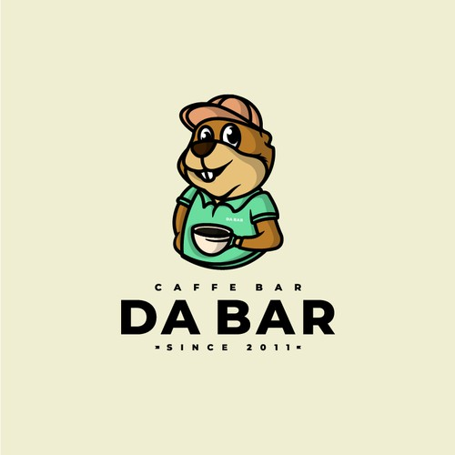 Character logo for Serbian based bar