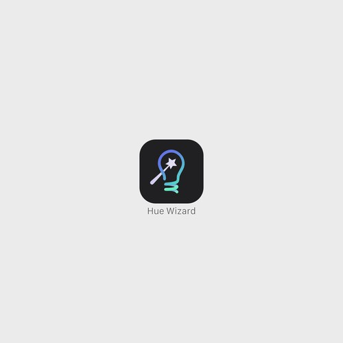 iOS app icon for Hue Wizard