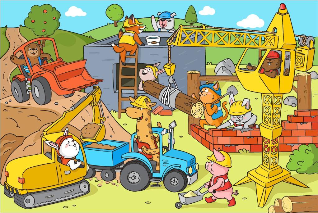 Children's Placemat Illustration