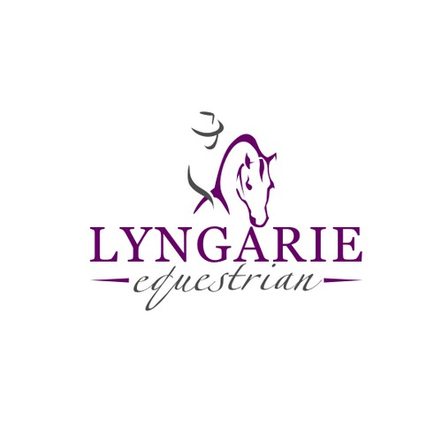 Create the next logo for Lyngarie Equestrian
