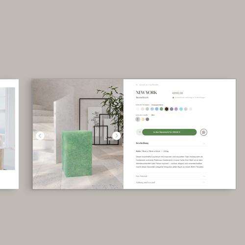 Online Shop Design