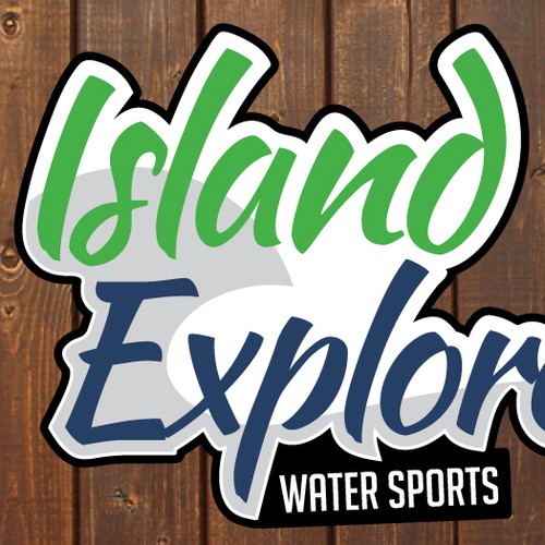 Winning design for Island Explorers Water Sports.
