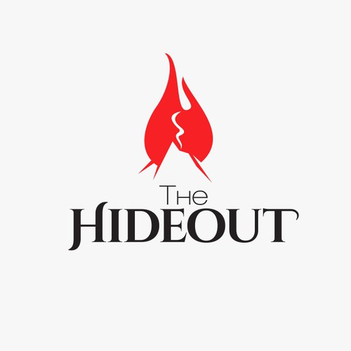 logo for The Hideout Cafe