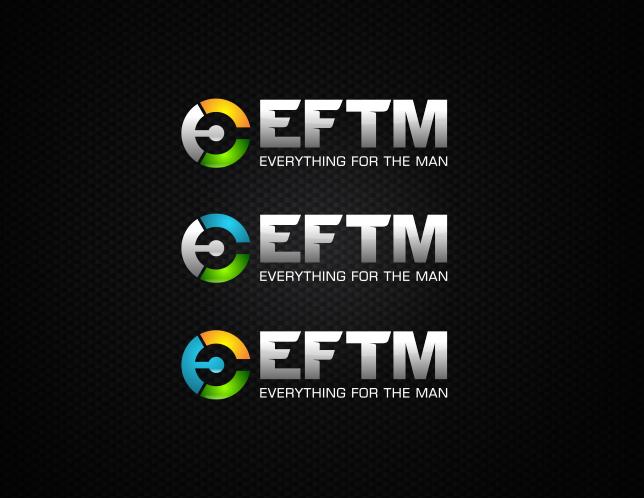 Design a sleek, modern logo for EFTM - Everything for the Man