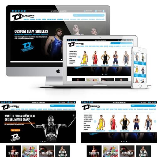 Sportswear Online Store Redesign