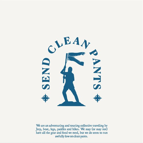 Logo for Send Clean Pants